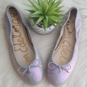 Sam Edelman Felicia iridescent ballet flats Size 6